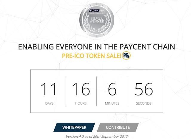 Paycent ico singapore