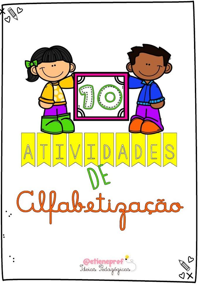 TOP 10: ATIVIDADES DE ALFABETIZAÇÃO - PARTE 1
