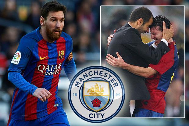 Sếp lớn Man City tuyên bố sẵn sàng ký Messi