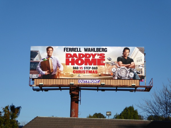 Daddys Home movie billboard