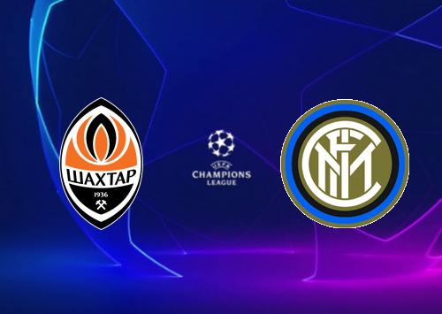 Shakhtar Donetsk vs Internazionale -Highlights 27 October 2020