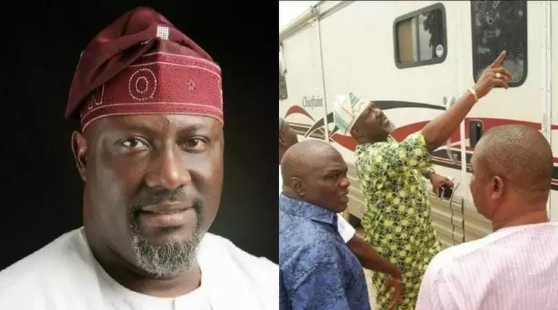 Image result for Police arrest Council boss over assassination attempt on Dino Melaye