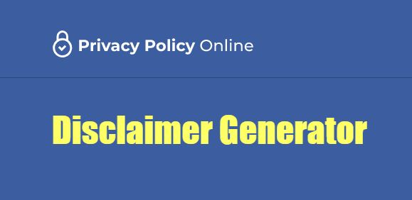 privacy policy online disclaimer generator