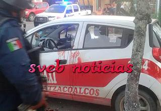 Fallece en un hospital taxista baleado en Coatzacoalcos Veracruz