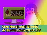 Cara Menginstal Wine di Ubuntu Linux 20.04 LTS