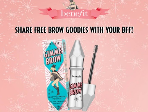 Benefit Cosmetics Free Gimme Brow Gel