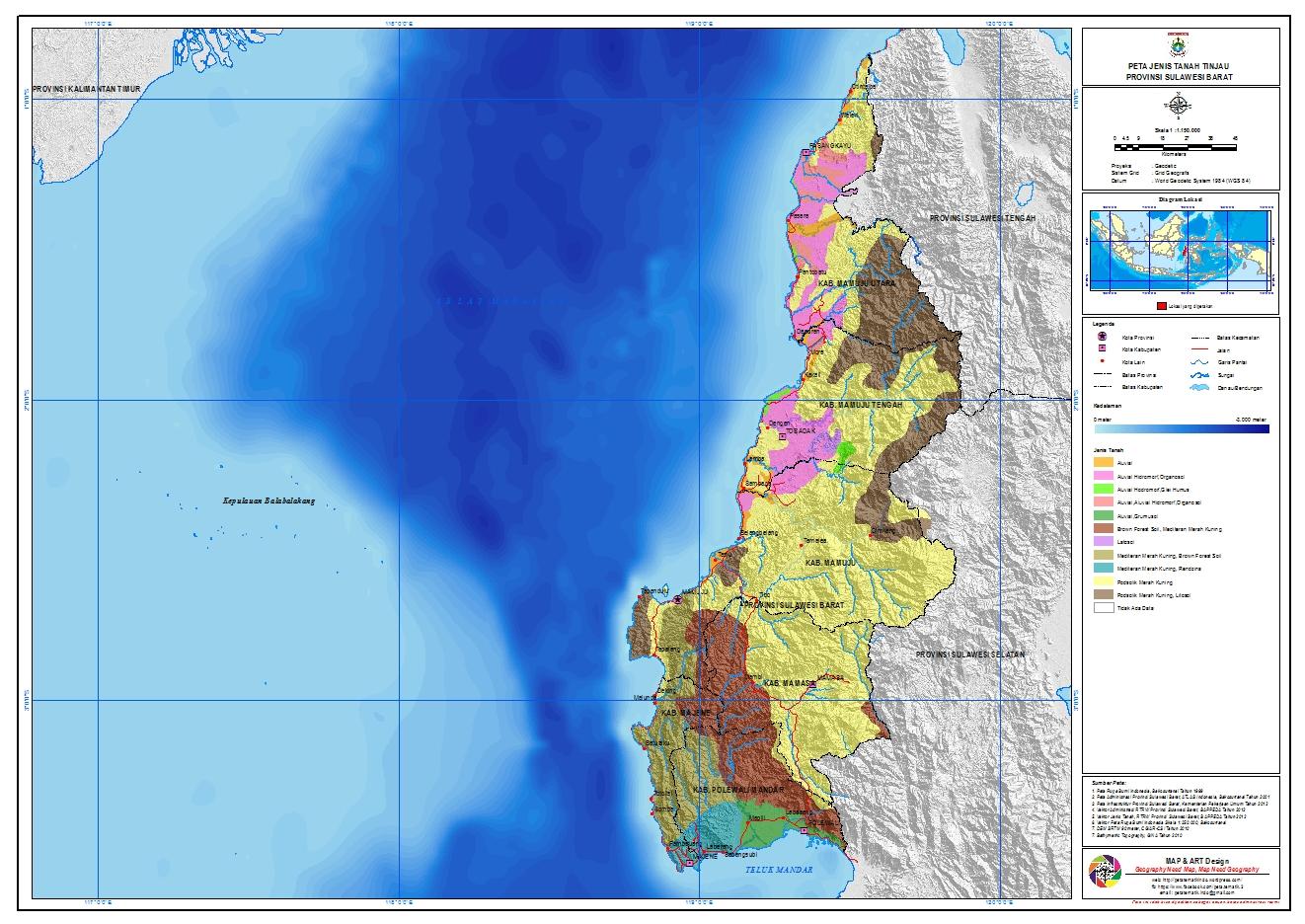 31/03/2011· geomorfologi kalimantan kalimantan adalah nama bagian wilayah indonesia di pulau borneo besar; Peta Jenis Tanah Sulawesi - Catatan Kuliah Geografi