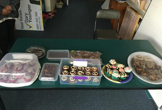 Bake Day Sale - Quick Fund Raising for our Gardens.