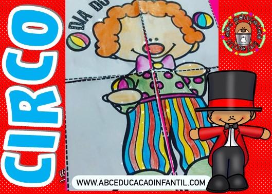 Quebra cabeça dia do circo