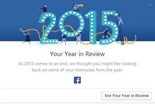 Facebook 2015 Year in Review, melihat kembali memori penting setahun kebelakang