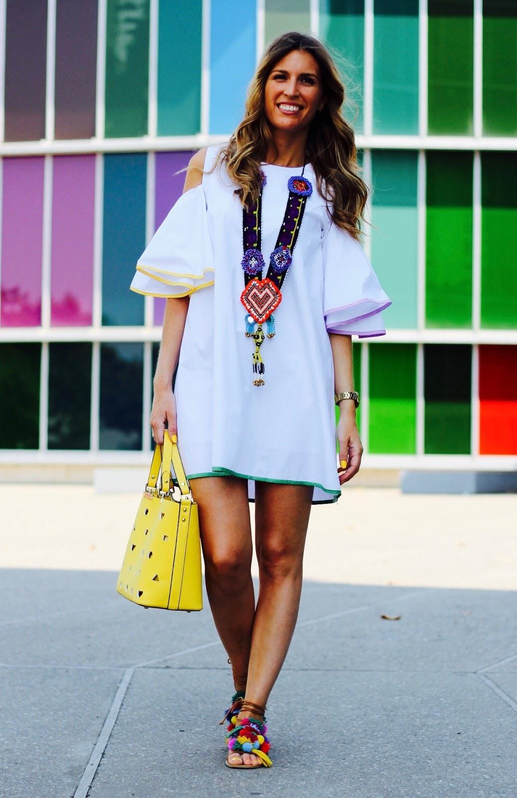 vestidos verano blancos