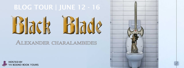 [Blog Tour] BLACK BLADE by Alexander Charalambides @YABoundToursPR