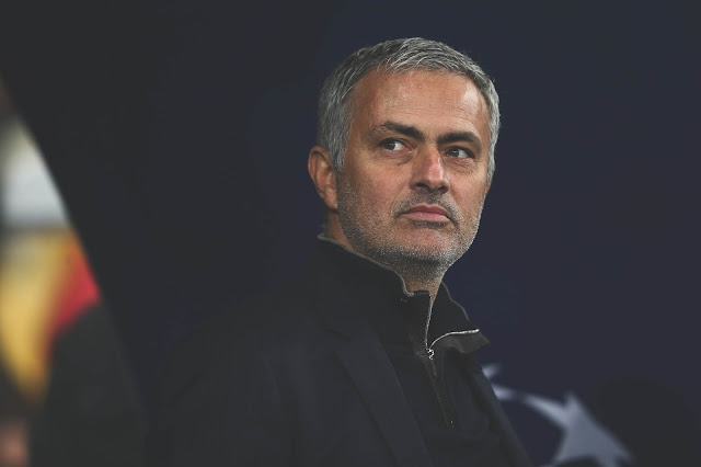 Jose Mourinho is eyeing the Arsenal job