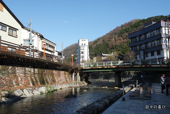 rivière haruki depuis arayu