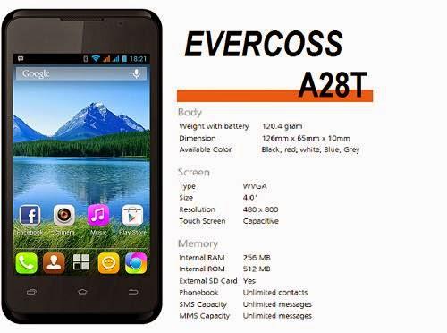 Evercoss A28T