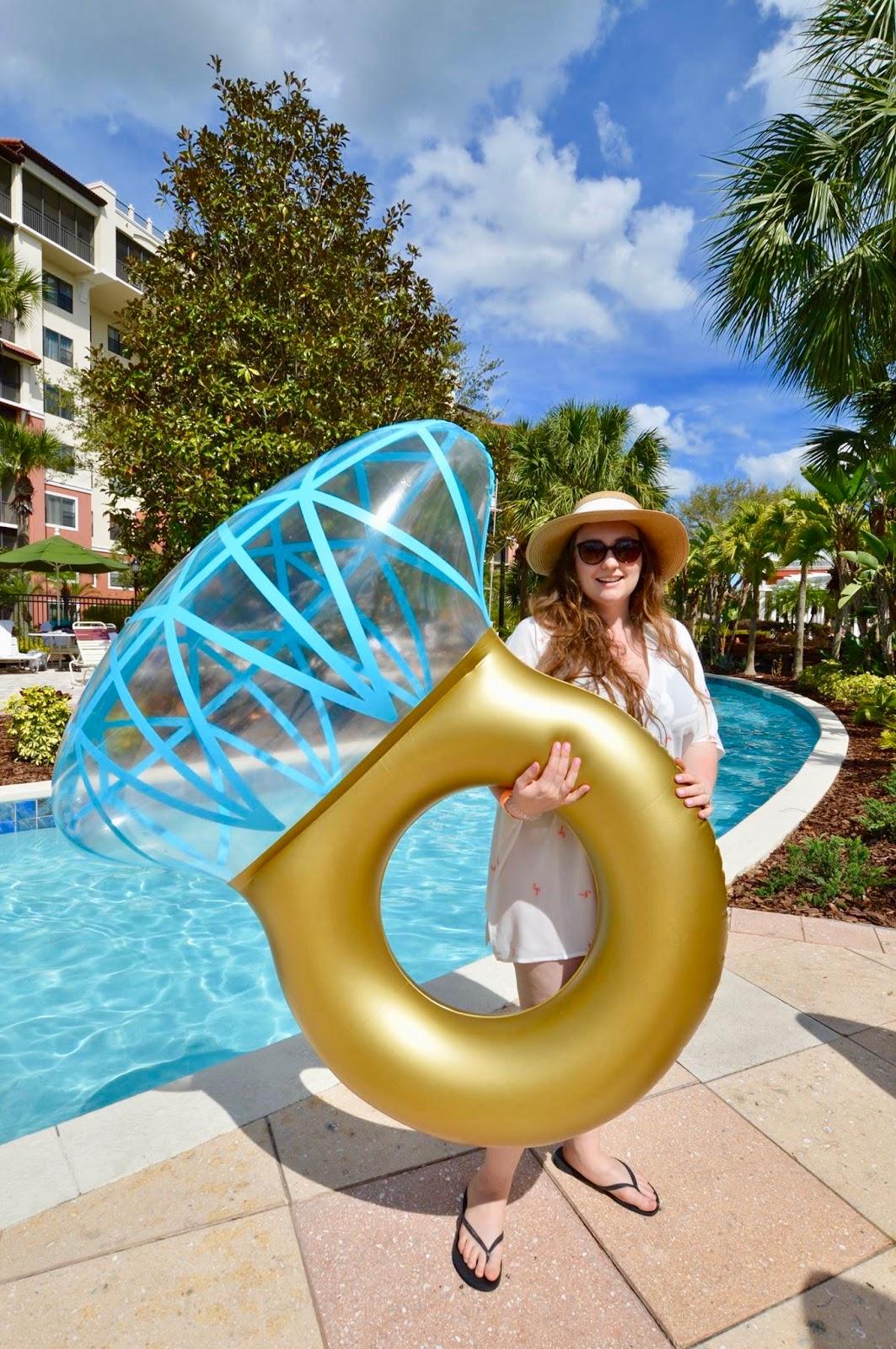 engagement ring pool float amazon