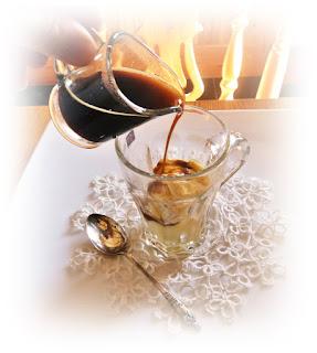 ice cream coffee affogato