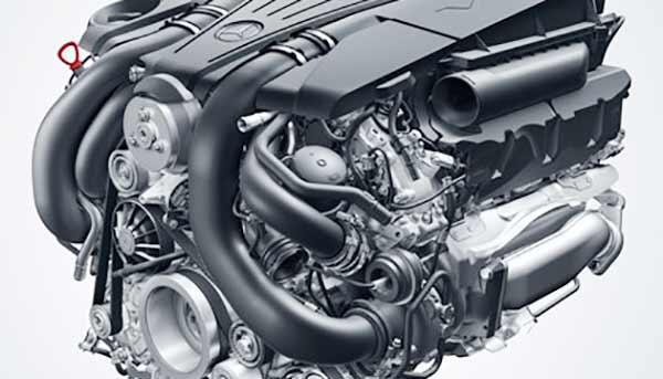 2016 Mercedes Benz E350 Sedan Engine