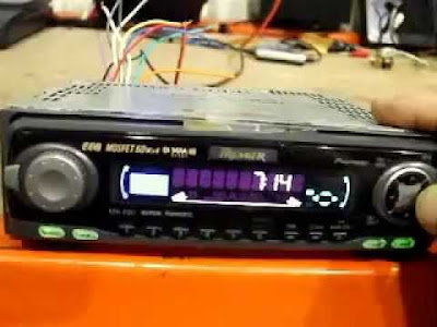 how to set clock on pioneer mosfet car stereo eeq 50 x4 Sony Clock Radio Manual Pioneer Super Tuner 3 D