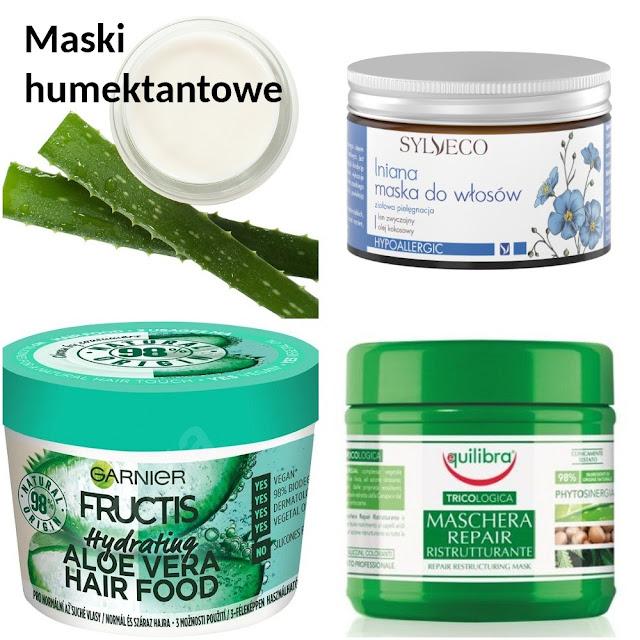 Humektantowe maski i odżywki - TOP 10