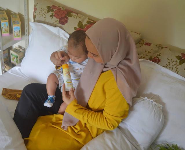 Mama choice baby series rash cream