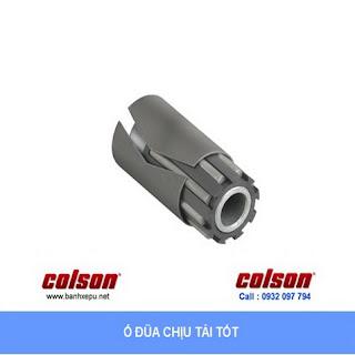 Bánh xe PU càng cố định 8 inch Colson Mỹ chịu lực 680kg | 6-8278-939 sử dụng ổ đũa banhxedaycolson.com