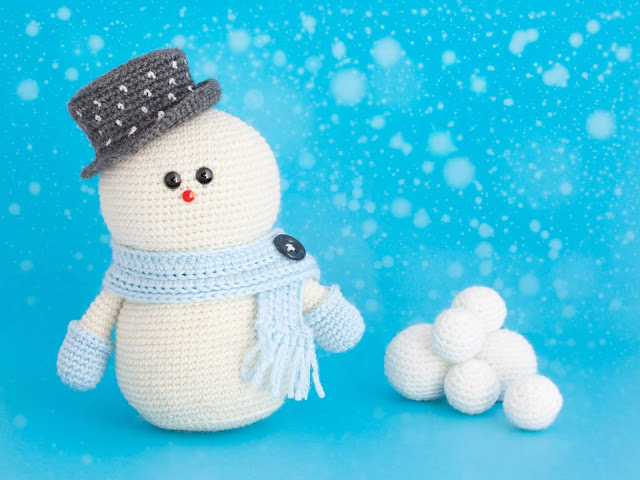 amigurumi-snowman-muneco-nieve-crochet