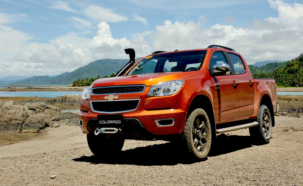 Chevrolet Colorado Tracker