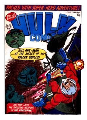Hulk Comic #29, Ant-Man vs the Porcupine