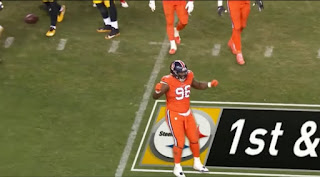 Von Miller Broncos vs Pittsburgh Steelers