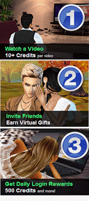 How to earn credits  Money From imvu Game