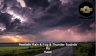 Realistic Rain & Fog & Thunder Sounds v4.0