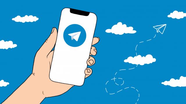 Menggunakan Telegram Web Melalui PC dan Telegram Dasktop di Laptop