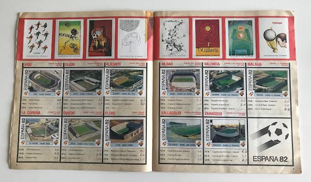 Figurine Stadi Spagna '82