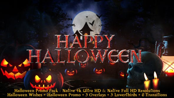 Videohive Halloween – Broadcast Pack 22695985