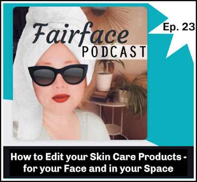 how to declutter skin care products step by step