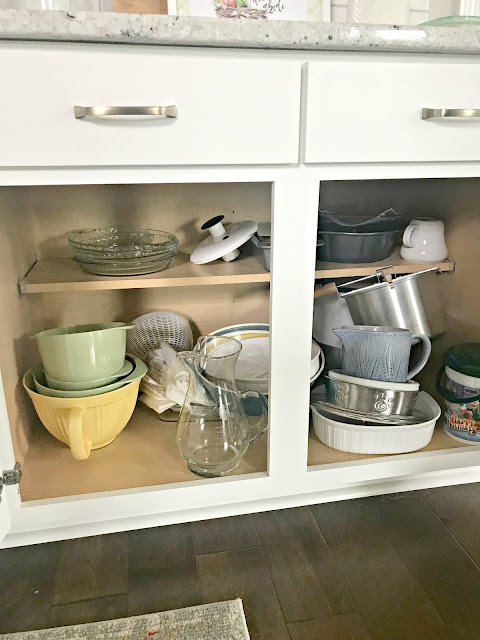 Tips for organizing lower cabinets