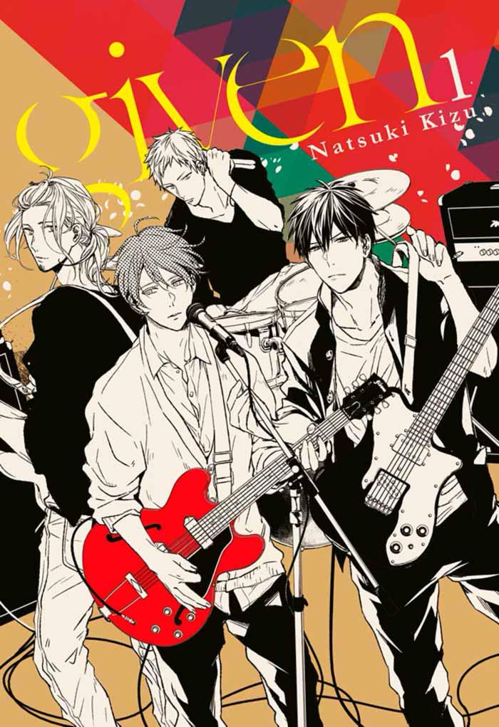 Given manga BL - Natsuki Kizu