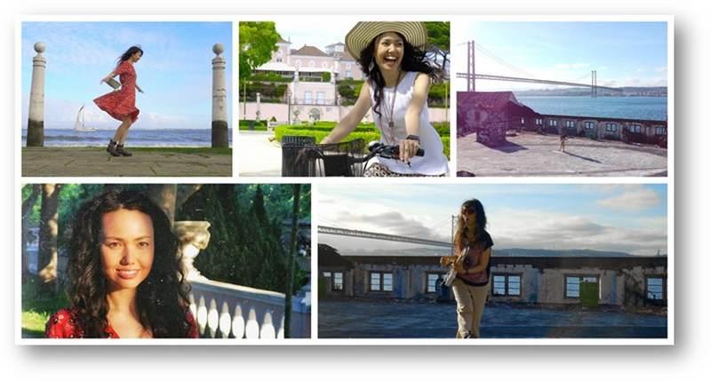 """O novo vídeo da cantora, guitarrista e compositora LIKA é uma declaração de amor a Lisboa: """"Музыка Моего Города"""" (Music of My City), cantado em russo, mas totalmente inspirado em Portugal, em especial Lisboa, onde foi filmado."""