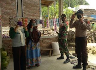 Giat Balla Ewako Polres Sinjai, Bhabinkamtibmas Bersama Babinsa Desa Bulutellue Pantau Wilayah Binaan