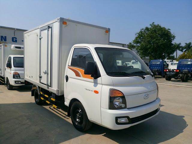 Giá lăn bánh Hyundai H150 thùng Composite