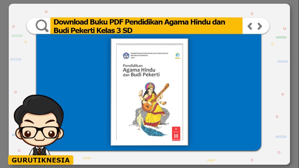 download buku pdf pendidikan agama hindu dan budi pekerti kelas 3 sd