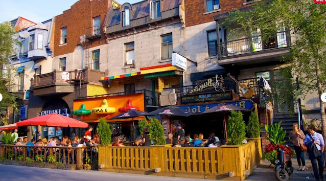 the Downtown or the Quartier Latin montreal