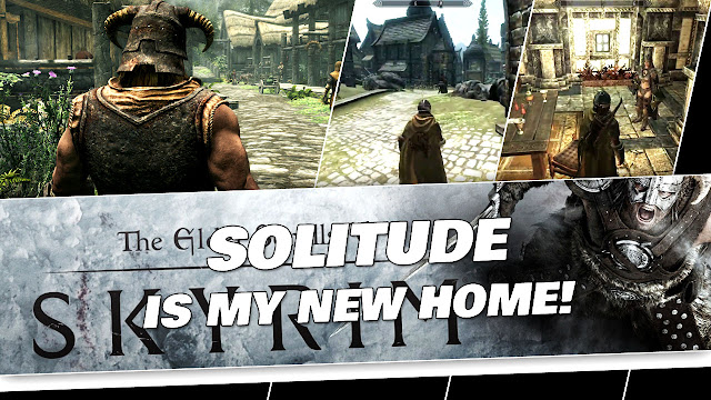 SKYRIM in 2020! Solitude, the Jarl and Proudspire Manor!