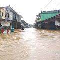 Banjir di Pasar Darit Belum Surut, di Guyur Hujan Deras Dua Hari