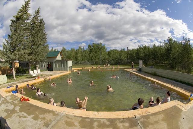 the Takhini Hot Springs