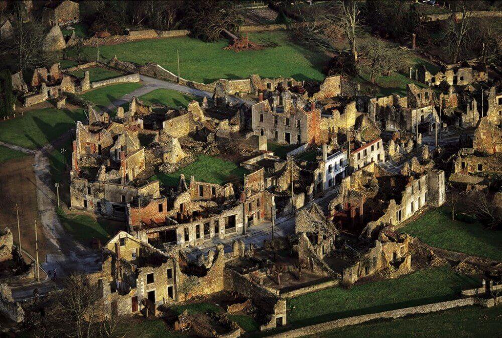 Hayalet Kasabası Oradour-Sur-Glane Fransa