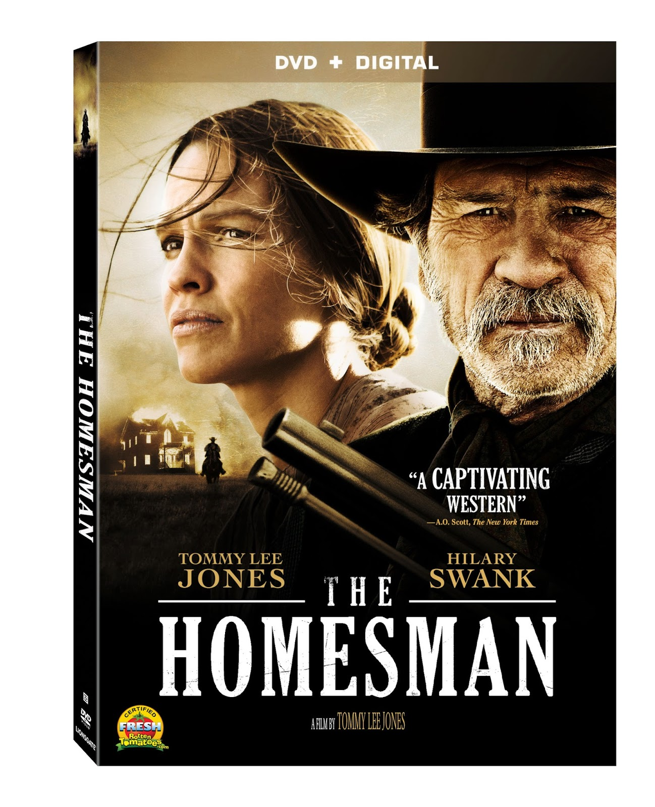 DVD Review - The Homesman