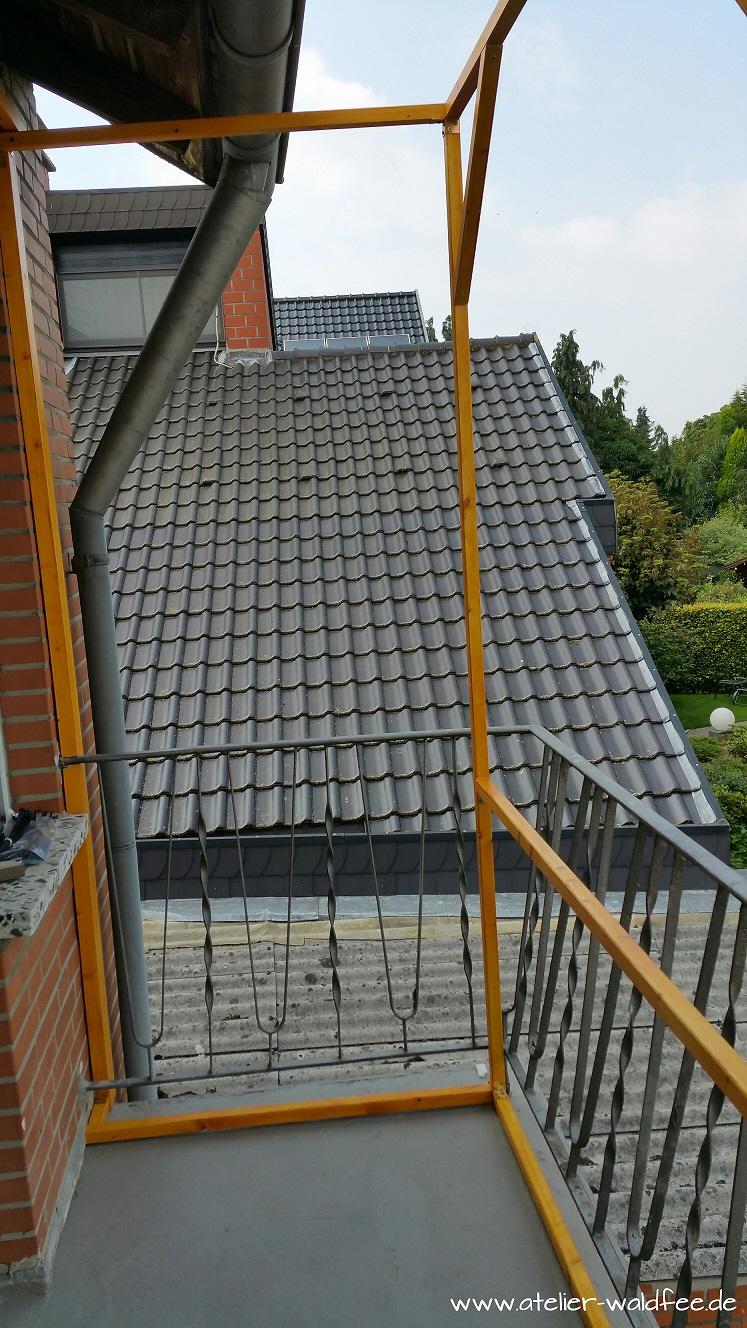 Atelier Waldfee Projekt Balkon Aufbau Und Fertigstellung Teil 2