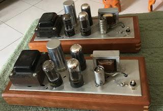 Magnavox 6V6 push pull tube mono blocks (sold) Magnavox%2B6v6%2B1